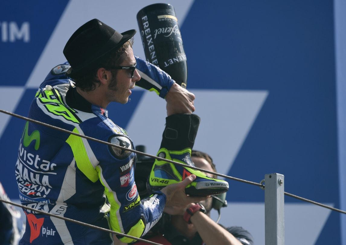 MotoGp Misano, Rossi: «Dato il massimo, Pedrosa troppo veloce»