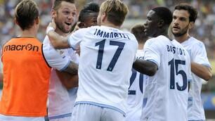 Serie A, Chievo-Lazio 1-1: prima Gamberini, poi il pareggio di De Vrij