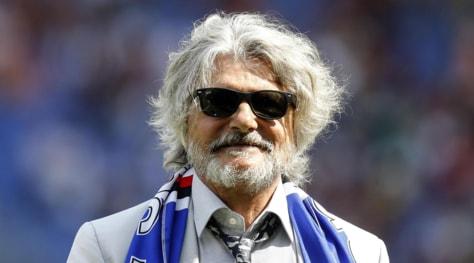 Sampdoria, Ferrero: «Cassano? Chiedete a lui o alla moglie...»