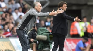 Chelsea, Conte show in panchina contro Guidolin