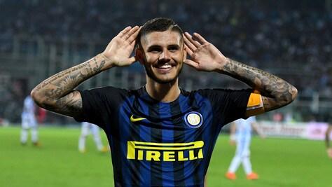 Inter, Icardi: «Nessuna dedica, segnare è il mio mestiere»