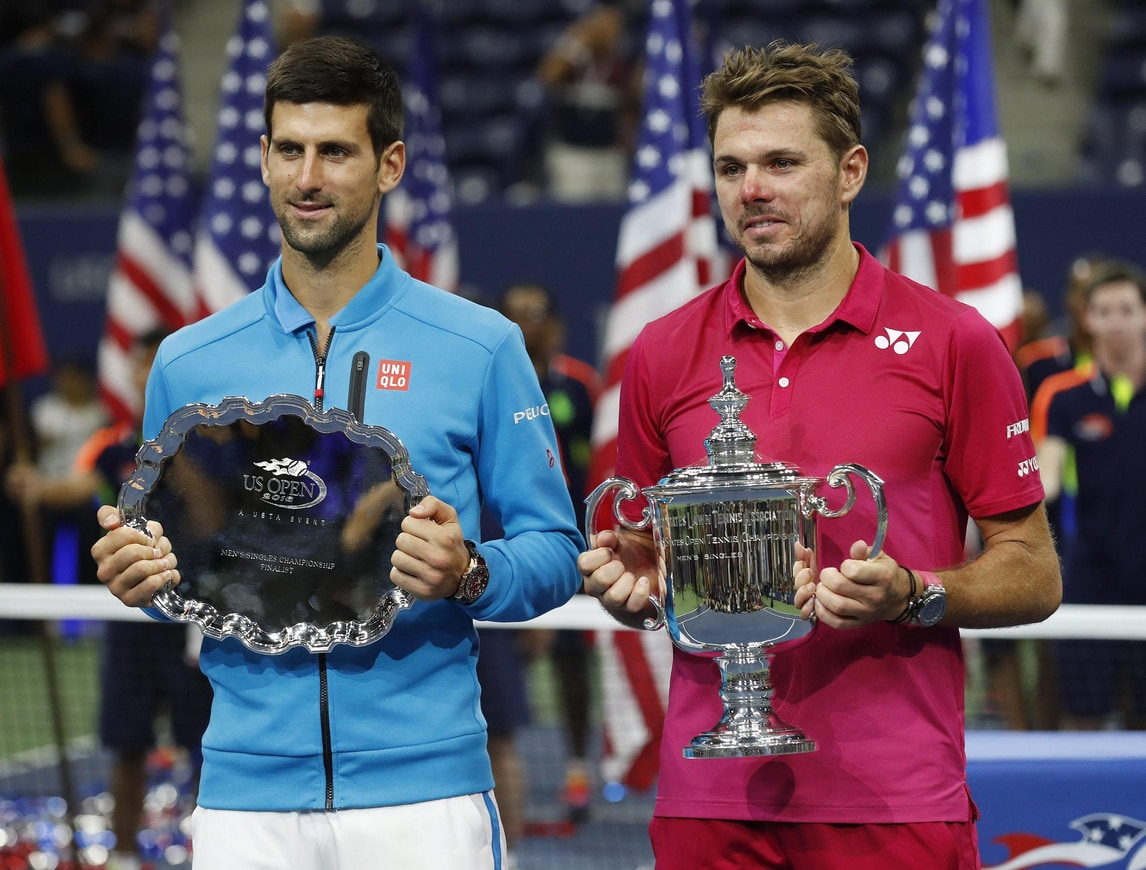 Us Open, Djokovic ko, Wawrinka re di New York