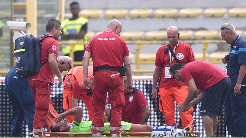 Serie A Cagliari Ionita, frattura al perone. Tornerà tra 5-6 mesi