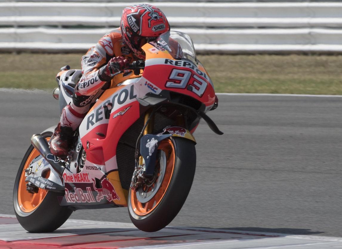 MotoGp Honda, Marquez: «Problemi con l'anteriore»
