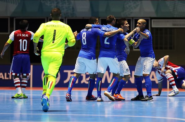 Calcio a 5, Mondiali: poker al debutto per l'Italia