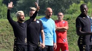 Napoli, Insigne e Tonelli biondi per la Champions League!