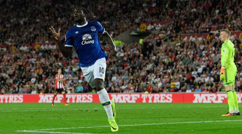 Premier League: Sunderland-Everton 0-3, strapotere Lukaku