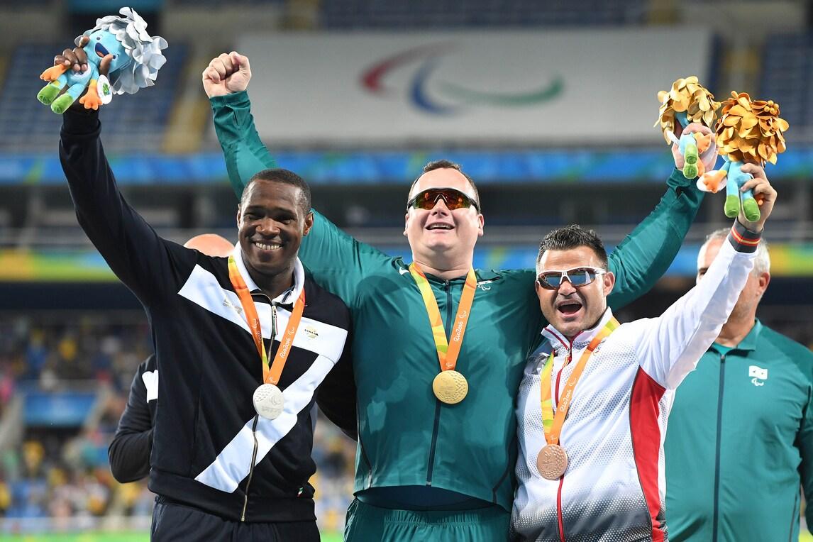Paralimpiadi Rio 2016: argento per l'Italia, secodo Tapia nel lancio del disco