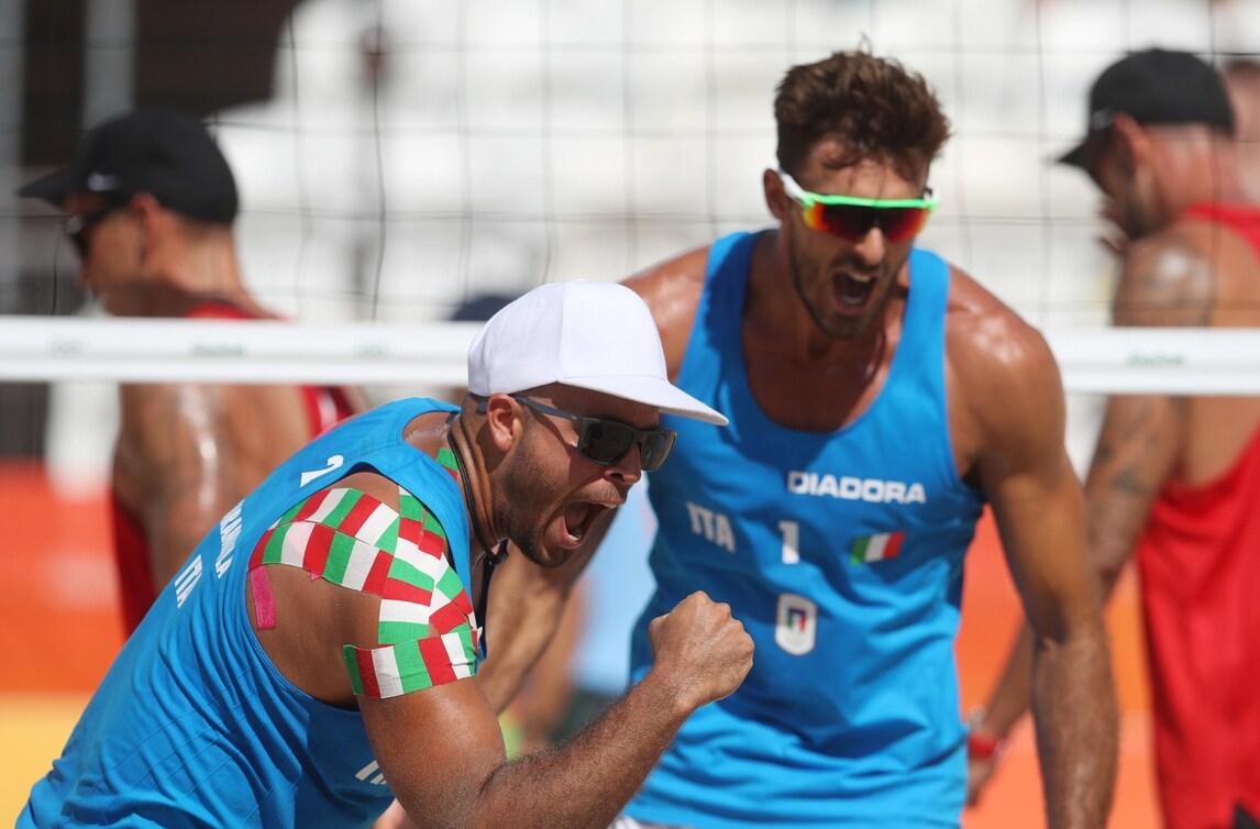 Beach Volley: World Tour Finals, in campo Ranghieri-Carambula e Menegatti-Giombini