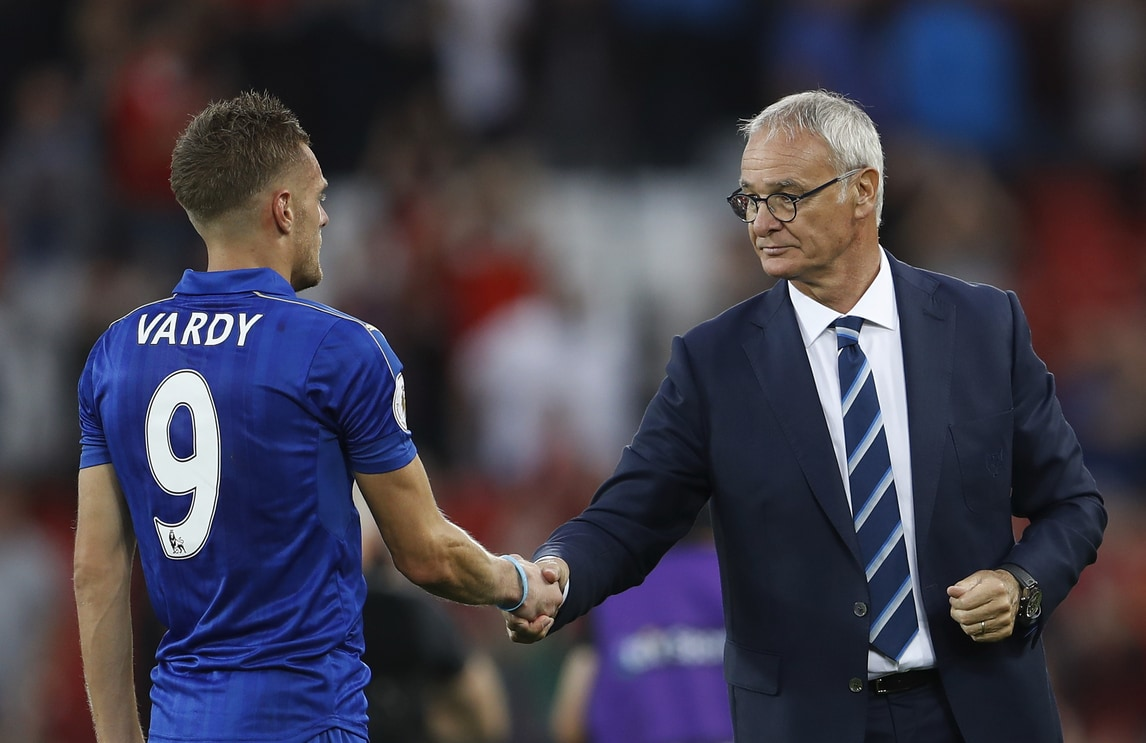 Champions: Brugge-Leicester, i bookie tifano Ranieri