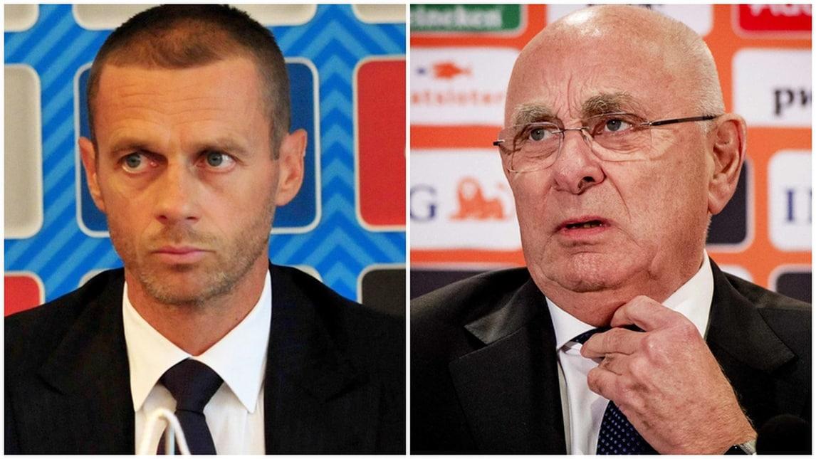 Uefa, si sceglie il dopo Platini: Ceferin o Van Praag?