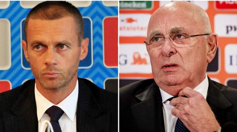 Uefa, Platini:
