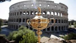 Golf, la Ryder Cup sbarca a Roma