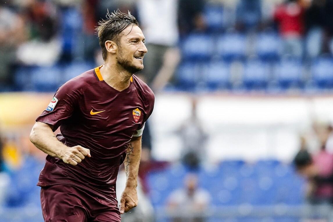 Totti conquista i bookie: in quota il gol nel derby