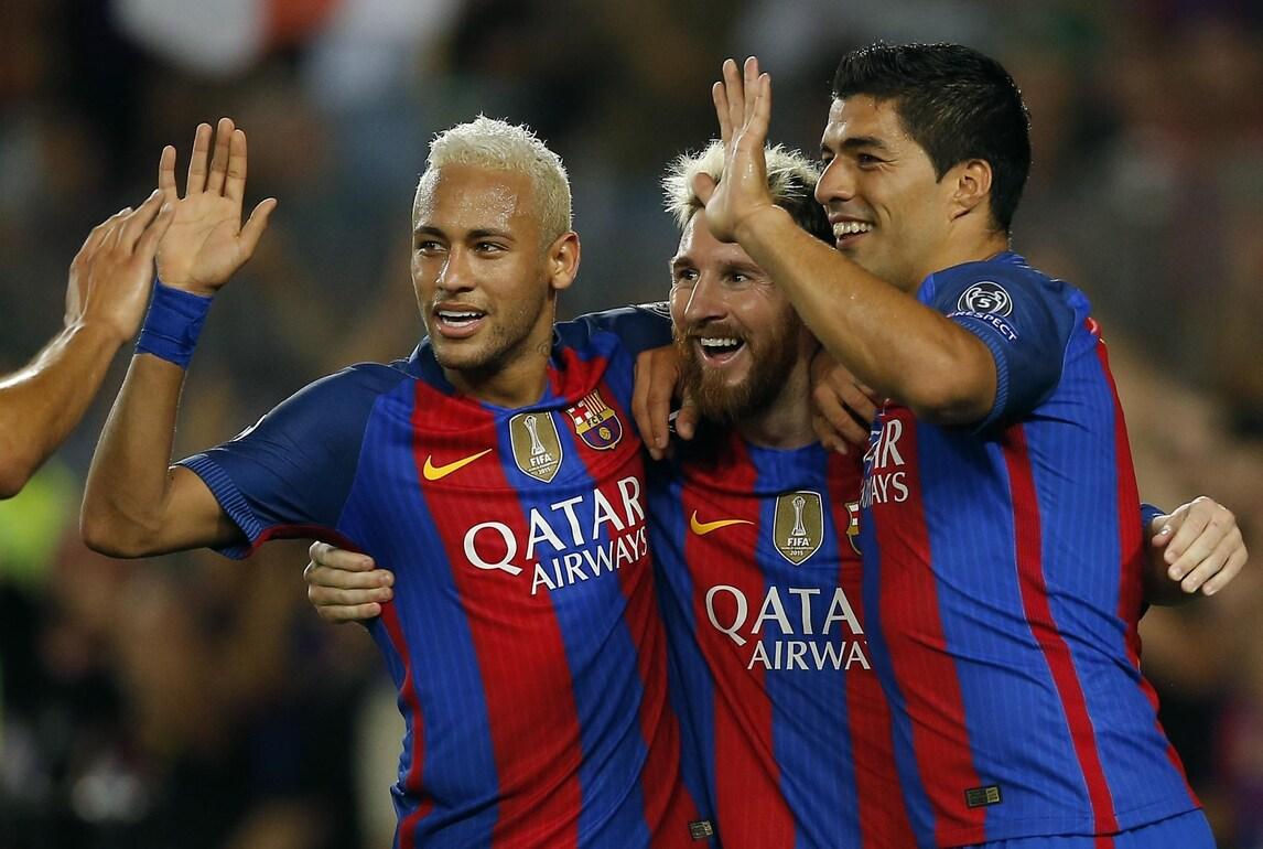 Champions: Barça e Bayern a valanga. Pari tra Psg e Arsenal