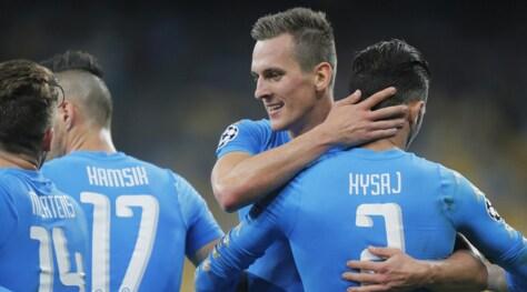 Champions, vai Napoli! primo posto a 1,40