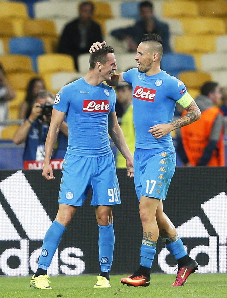 Hamsik loda Sarri: «Il Napoli migliore degli ultimi 10 anni»