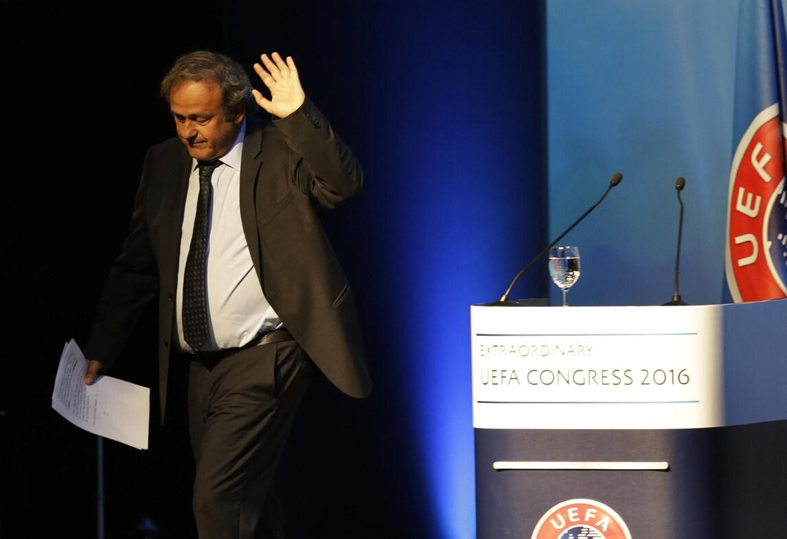 L'addio di Platini all'Uefa: «Orgoglioso, ho la coscienza tranquilla»