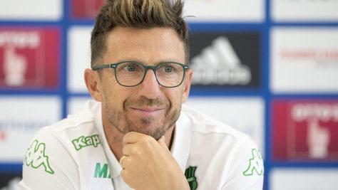 Serie A Sassuolo, Di Francesco: «Montella amico e ottimo allenatore»