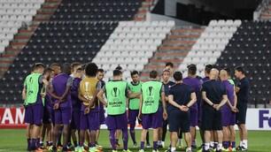 Paok-Fiorentina, i viola si scaldano a Salonicco