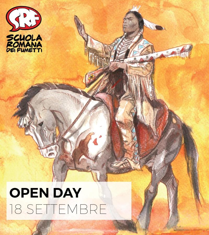 Il 18 settembreOpen Day alla scuola romana dei fumetti
