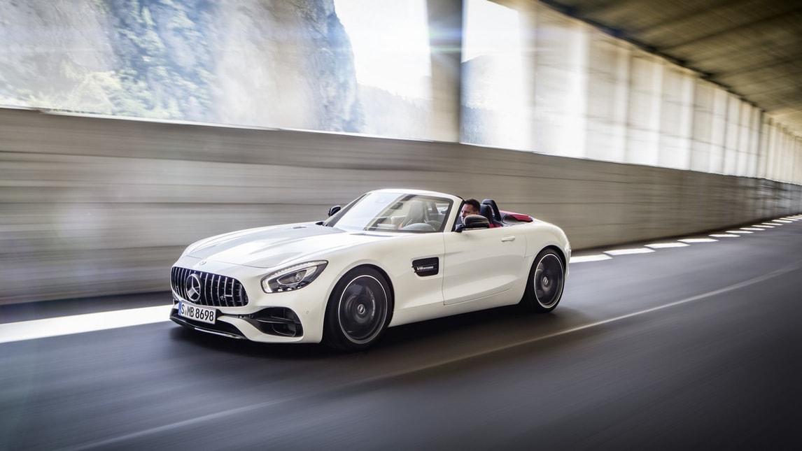 Mercedes AMG GT Roadster, 500 CV a cielo aperto
