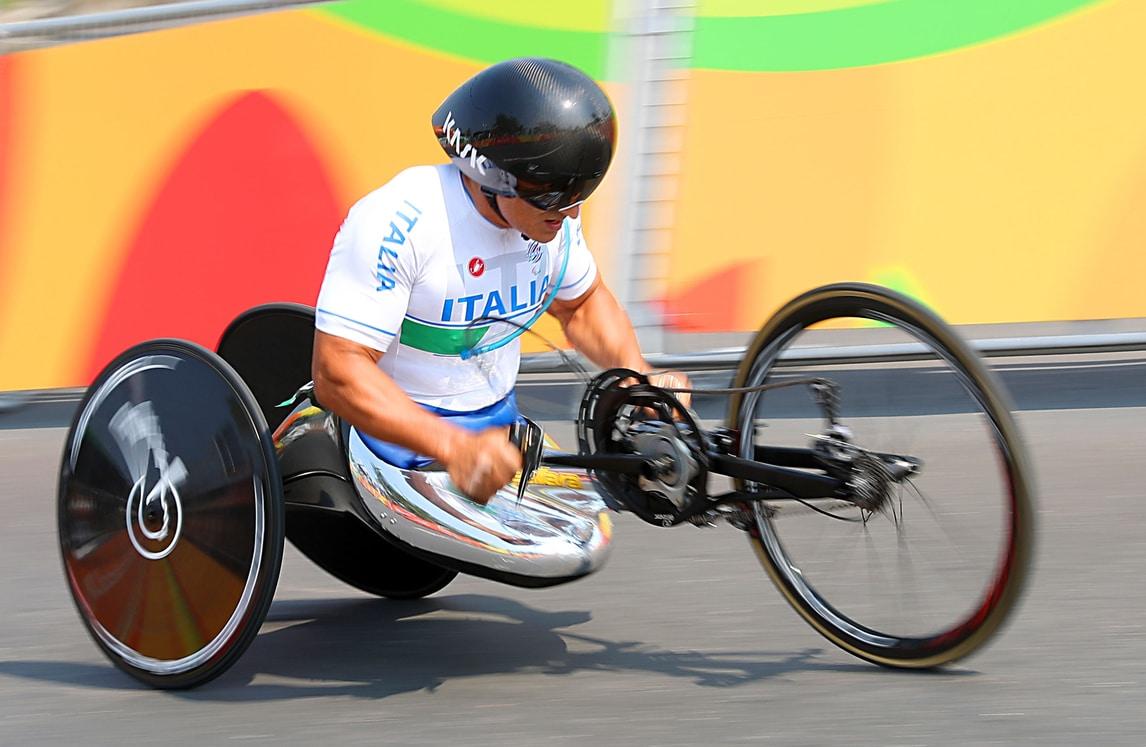 Paralimpiadi, ancora Zanardi: argento nella gara in linea