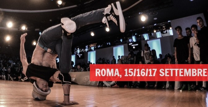 Arriva la Battle of the year, dal 17 al 17 settembre a Roma