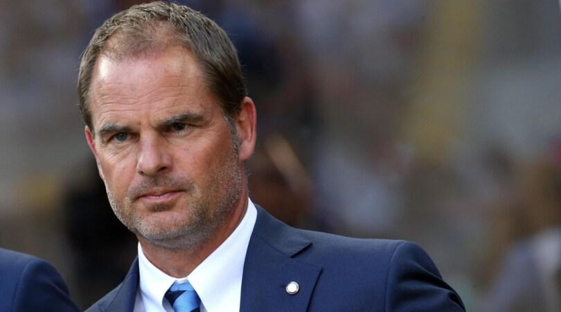 De Boer: «Juve, l'Inter non ha paura»