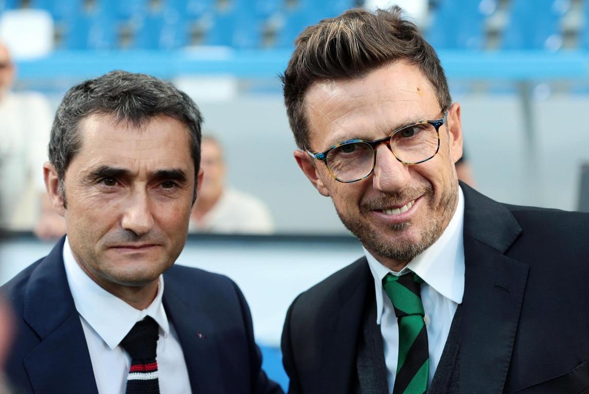 Europa League, Di Francesco: «Sassuolo, sei davvero tenace»