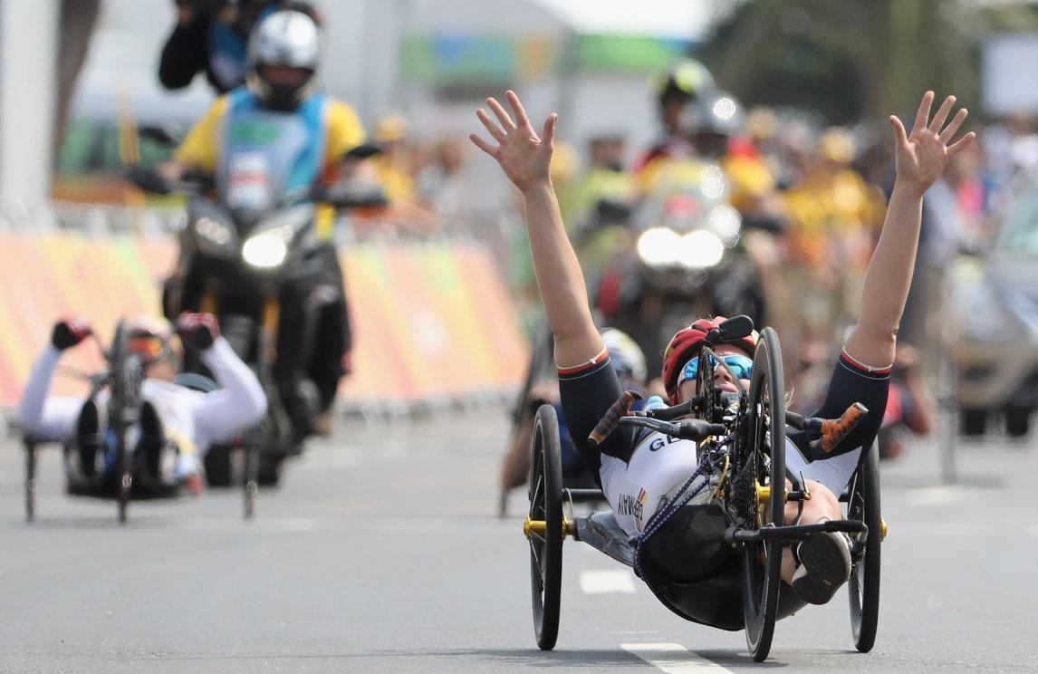 Paralimpiadi: Cecchetto oro nella Road race H2