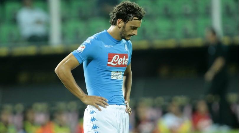 Napoli, partita con Bologna: in dubbio Gabbiadini e Milik