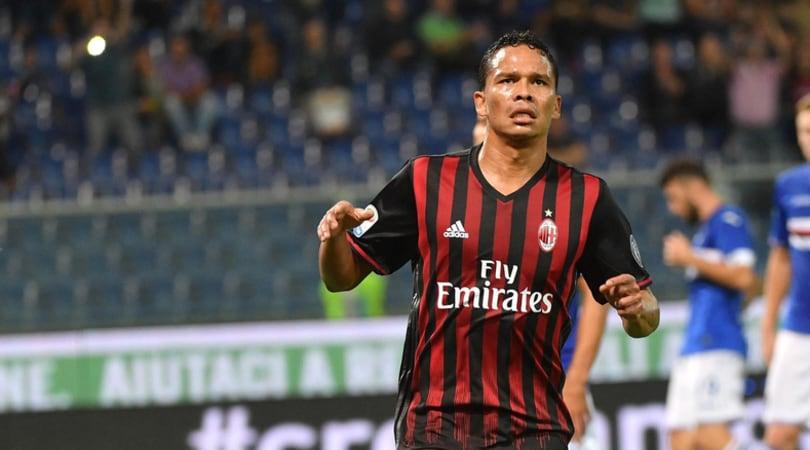 Serie A, Sampdoria-Milan 0-1: Bacca entra e fa sorridere Montella