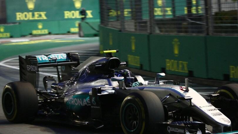 F1 Singapore, Rosberg: «Non sarà facile per noi»