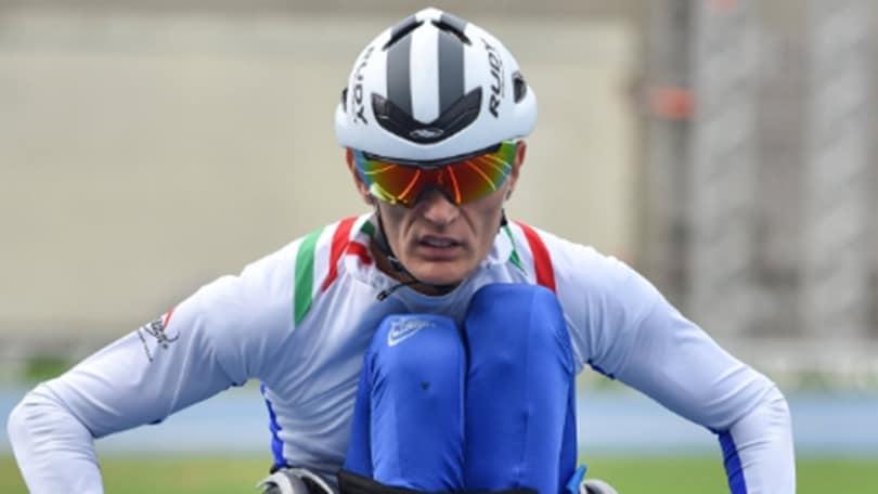 Paralimpiadi, De Vidi è di bronzo nei 400 metri T51