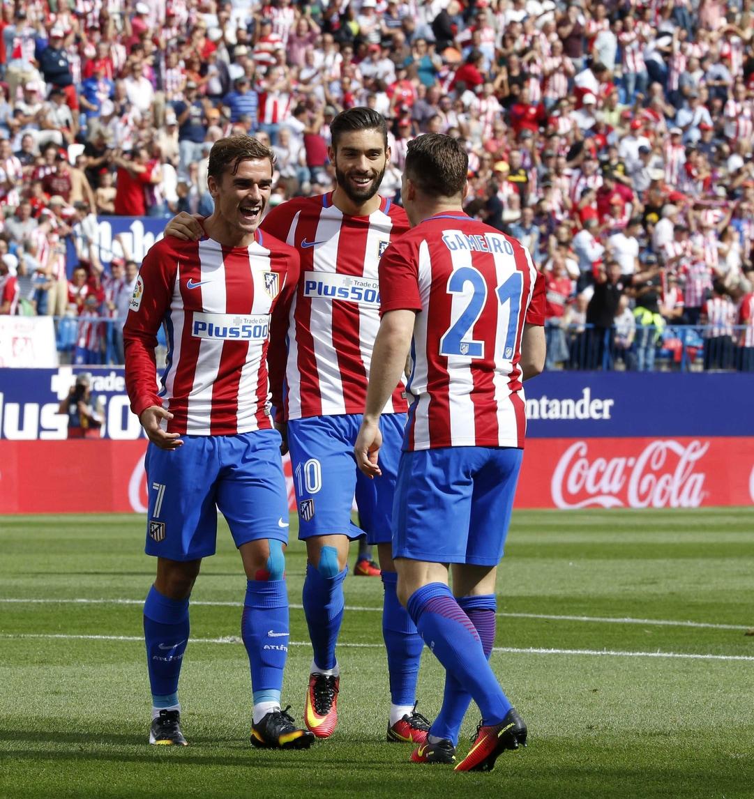 Liga, l'Atletico Madrid cala il pokerissimo