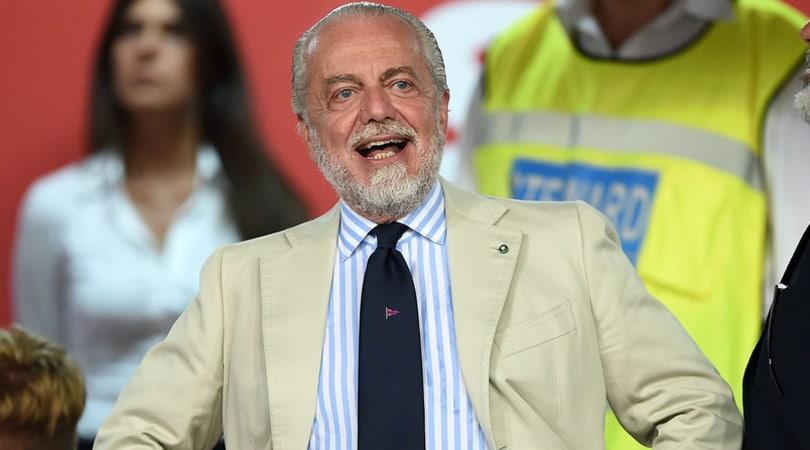Napoli, de Laurentiis: «Mertens falso nueve? Ma se ha segnato come Higuain»