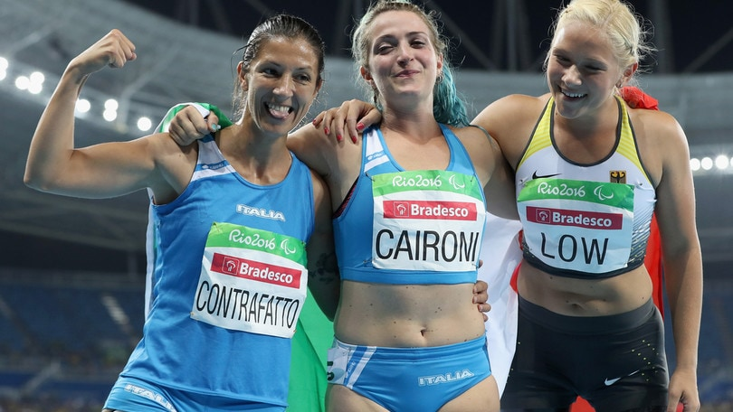 Paralimpiadi: Caironi oro nei 100 metri, Contrafatto bronzo