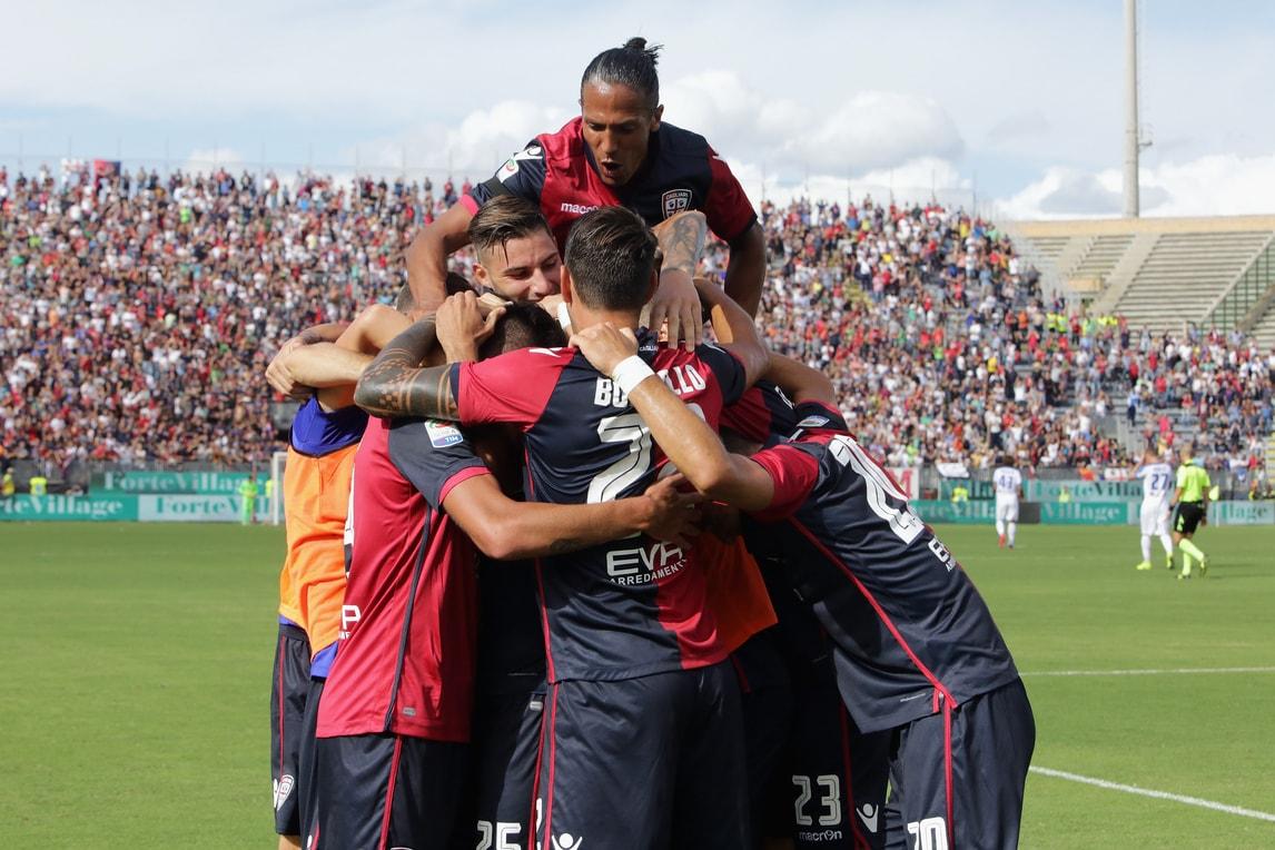Serie A, Cagliari-Atalanta 3-0, Torino-Empoli 0-0, Crotone-Palermo 1-1, Sassuolo-Genoa 2-0