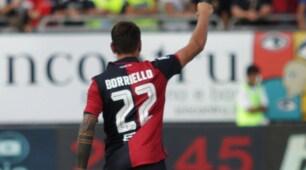 Cagliari-Atalanta 3-0, Borriello travolge i bergamaschi