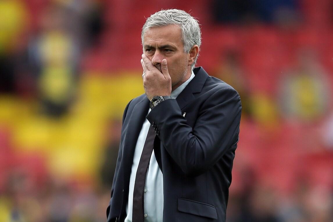 Mourinho: «Gli errori della squadra posso correggerli, quelli dell'arbitro no»