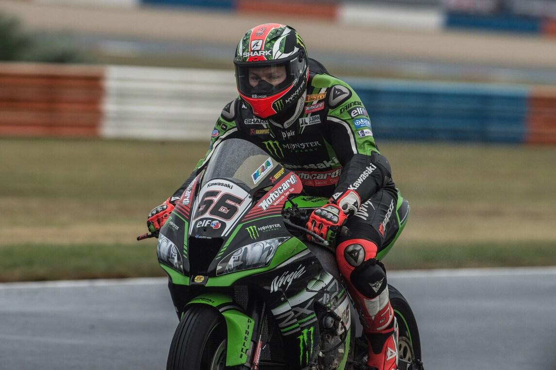 SBK Kawasaki, Sykes sfortunato: «Il set-up non ha funzionato»