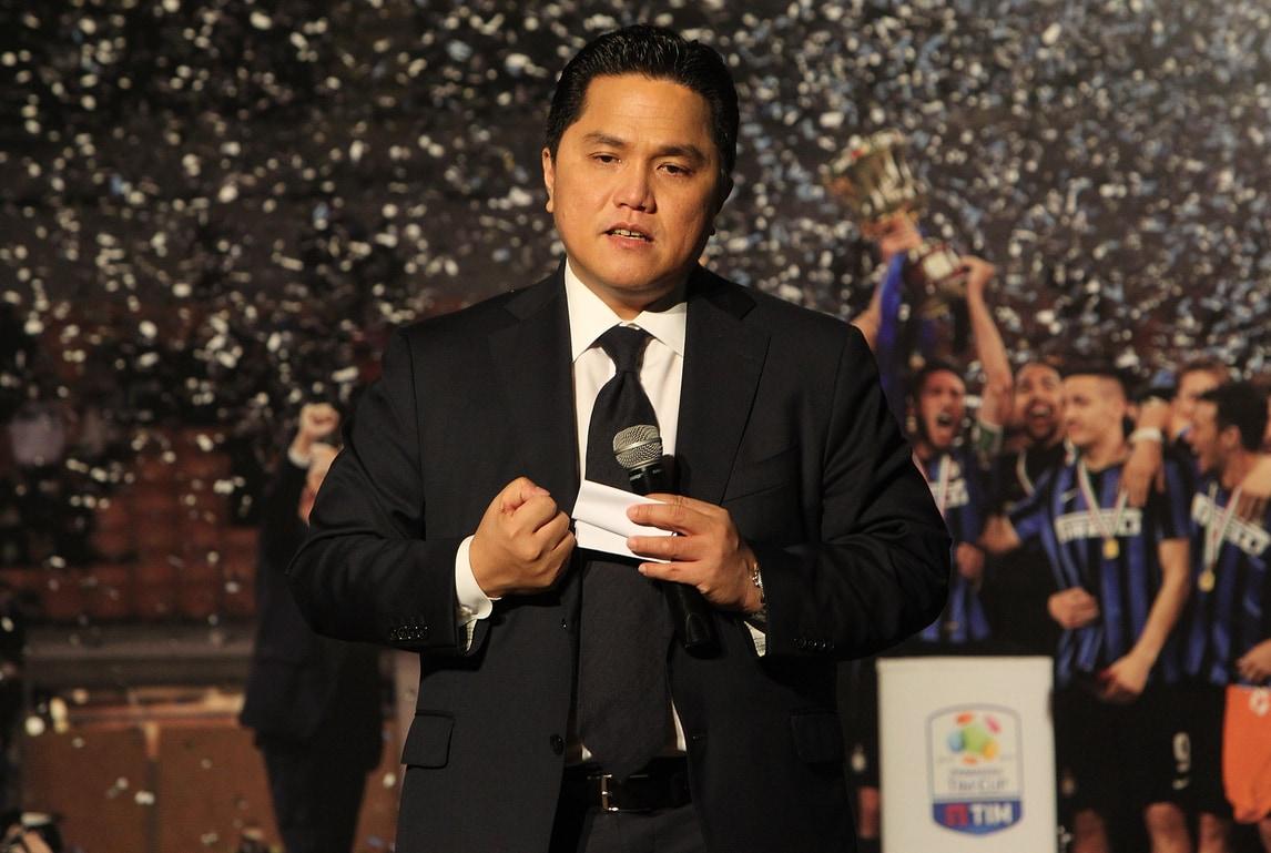 Inter, Thohir: «Torneremo nella top 10 mondiale»