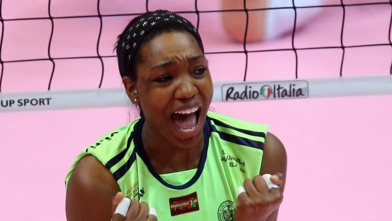 Volley: Chieri a Stelle e Strisce con Kiesha Leggs