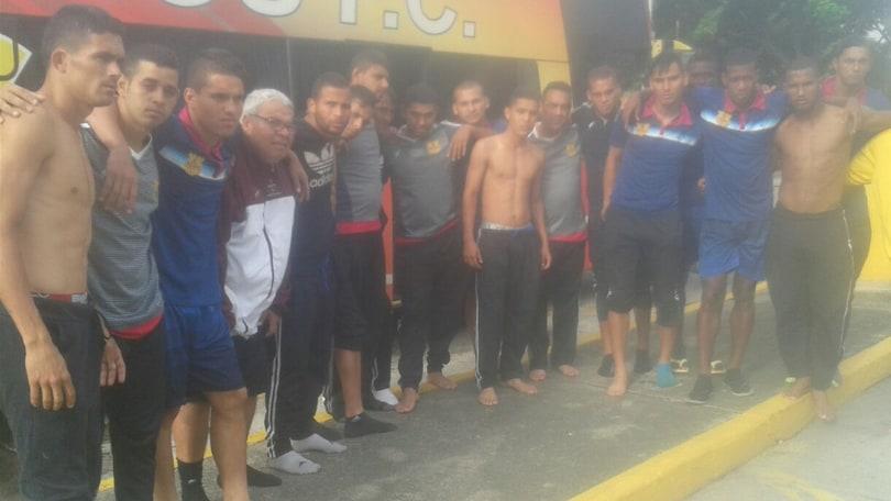 Venezuela, squadra di serie A sequestrata e rapinata