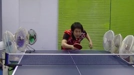Ping pong, i colpi più incredibili nel video virale
