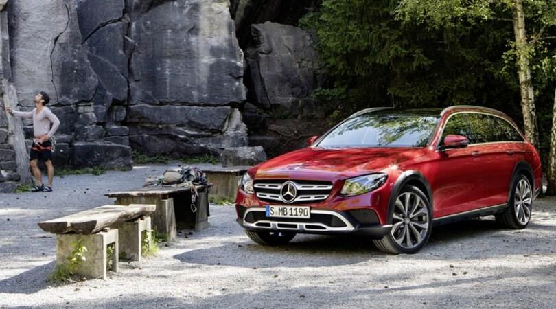 Mercedes E All-Terrain, per famiglie avventurose
