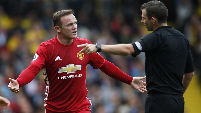 United, Rooney nel mirino di Mou: l'addio ai Red Devils a 3,75