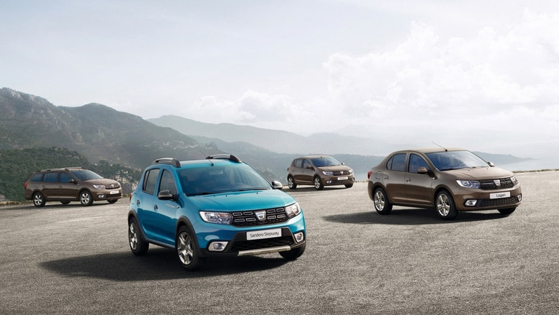 Dacia, Logan MCV, Sandero e Sandero Stepway si rinnovano