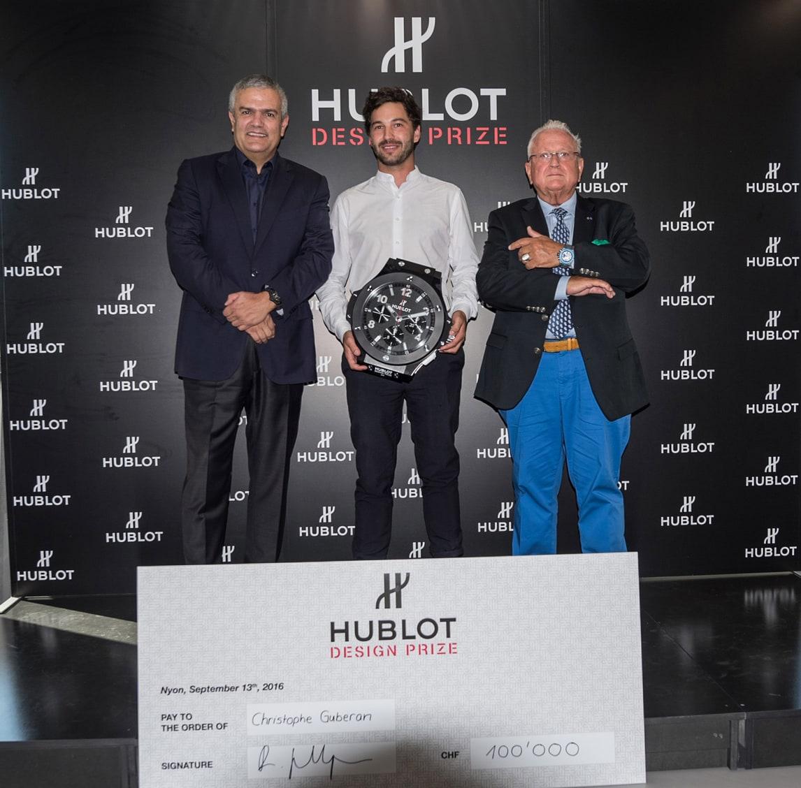I protagonisti dell' Hublot Design Prize 2016